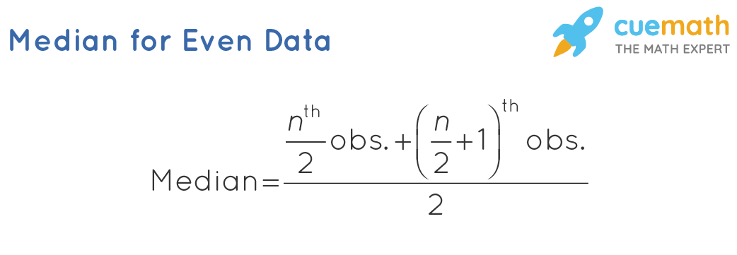 Median for Even Data