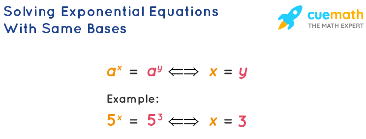Solving Exponential Equations With Same Bases