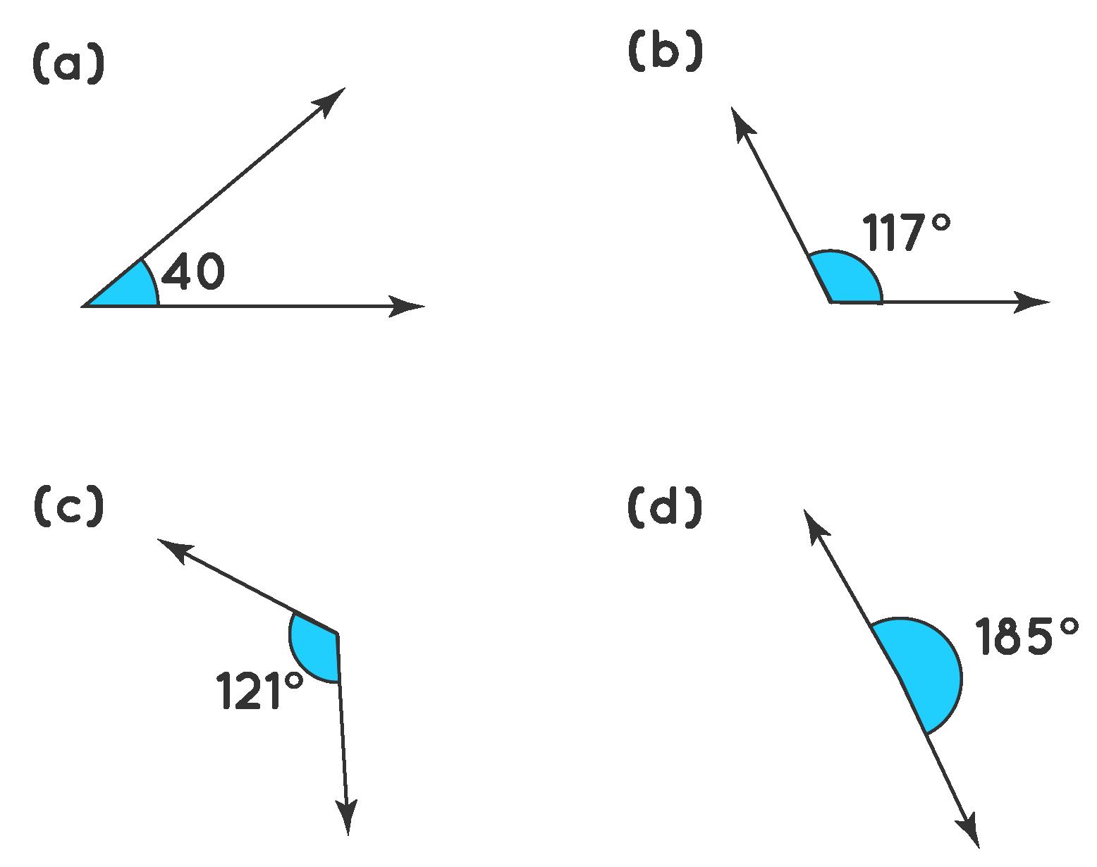 Identify Obtuse Angles