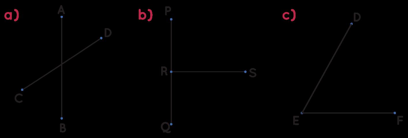 identifying line segments