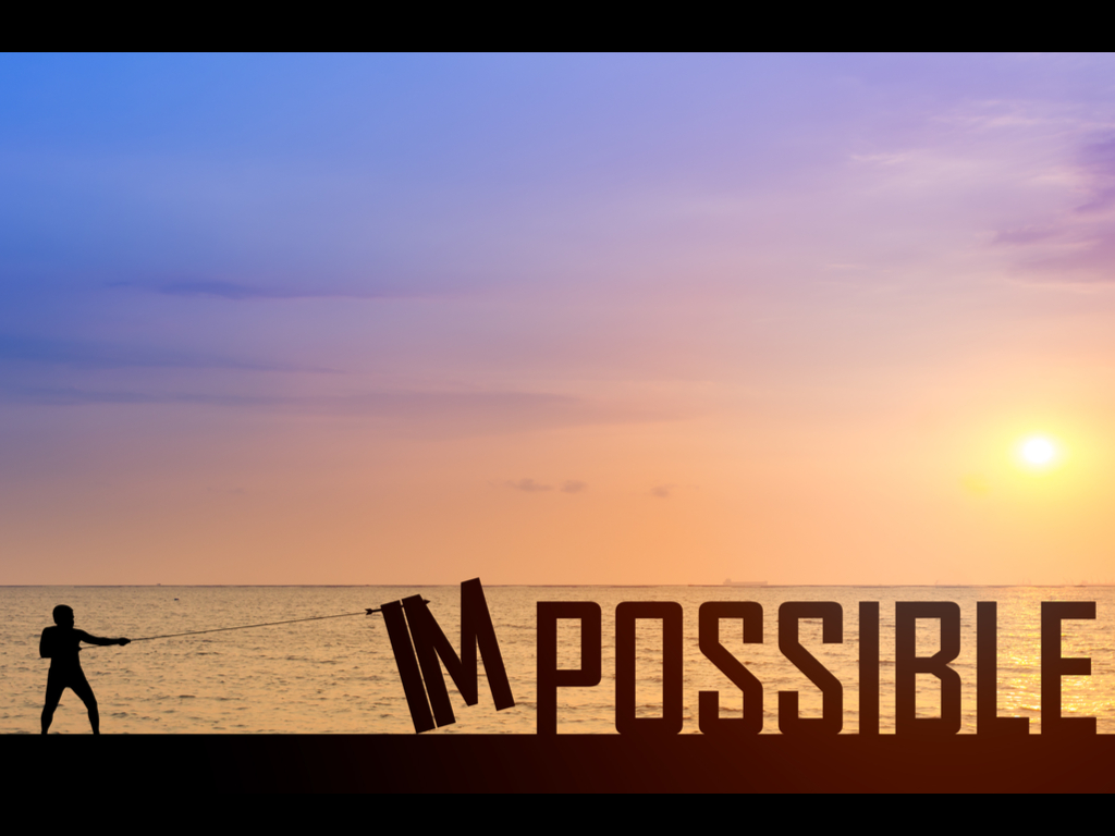 i'm-possible motivational quote