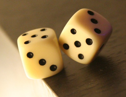 Rolling Dice Probability,  Blaise Pascal and Pierre de Fermat came up with the first set of rules of Probability in Mathematics.