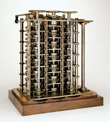 Charles Babbage Difference Engine No. 2