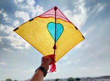 Kite shapes in real life
