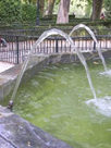 fountain takes a path of parabola