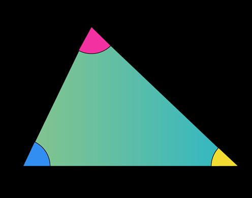 Interior angles of Triangle