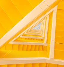 Visual Ability of yellow triangles