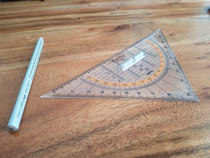 Grab that pencil, scale compass, and draw the diagram