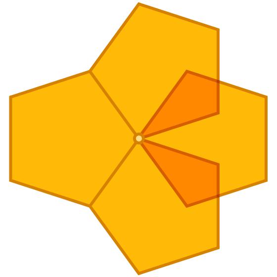 four pentagons