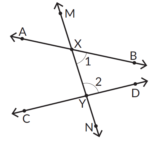Co-interior angles