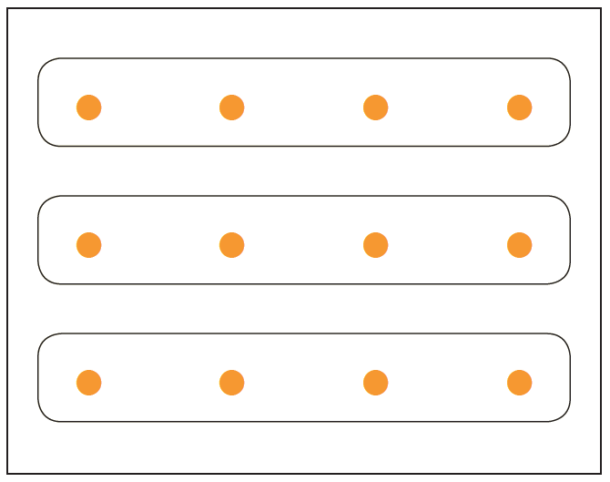 Multiplication using dots