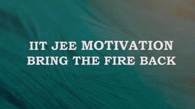 JEE exam motivation quote