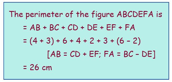 calculation of perimeter