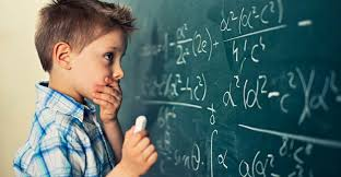 Child with symptoms of Math phobia