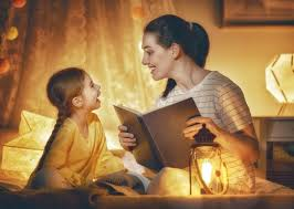 mother narrating story