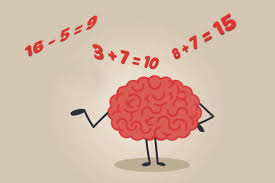 brain doing calculations