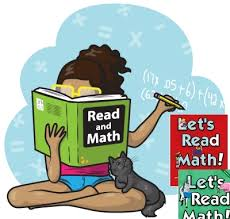 child reading math