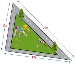 Area of park