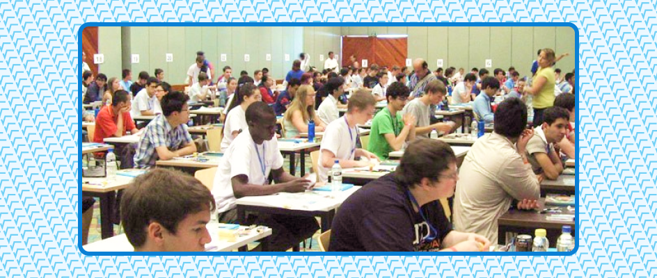 Examination Hall of Math Olympiad