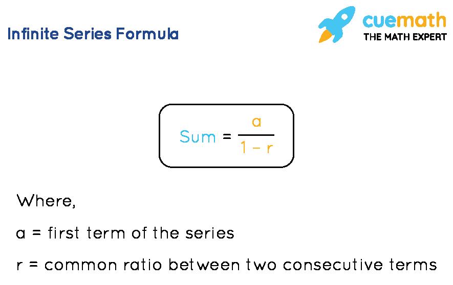 Infinite series formula