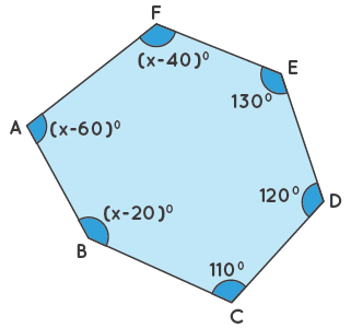 Interior angles solved example