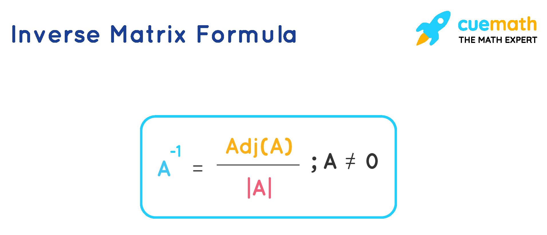inverse matrix formula