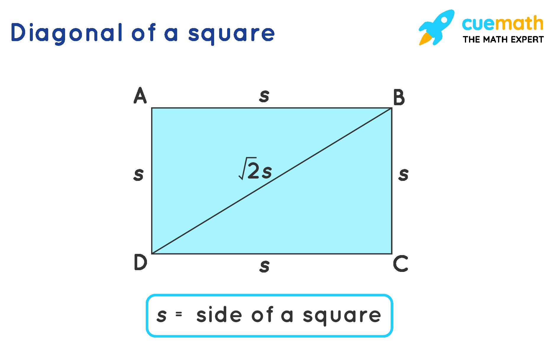 diagonal of a square