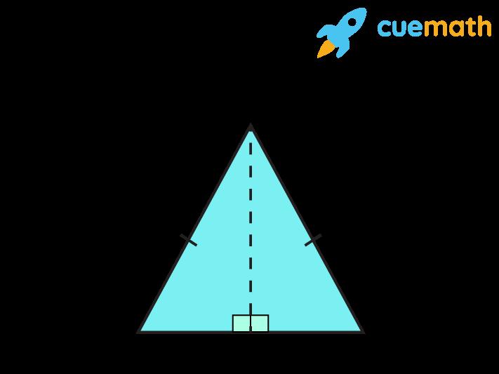 Isosceles triangle ABC with median AD to prove hypotenuse leg theorem