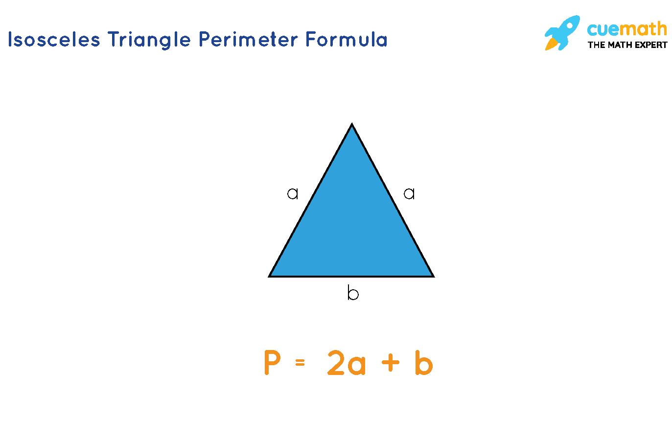 perimeter of isosceles triangle formula