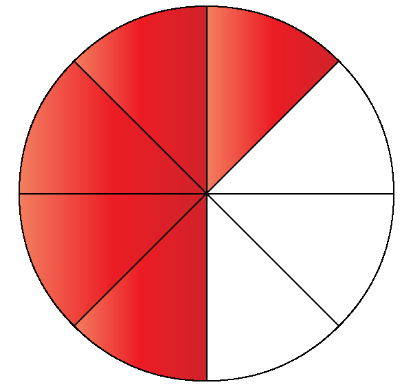 5/8 as a fraction