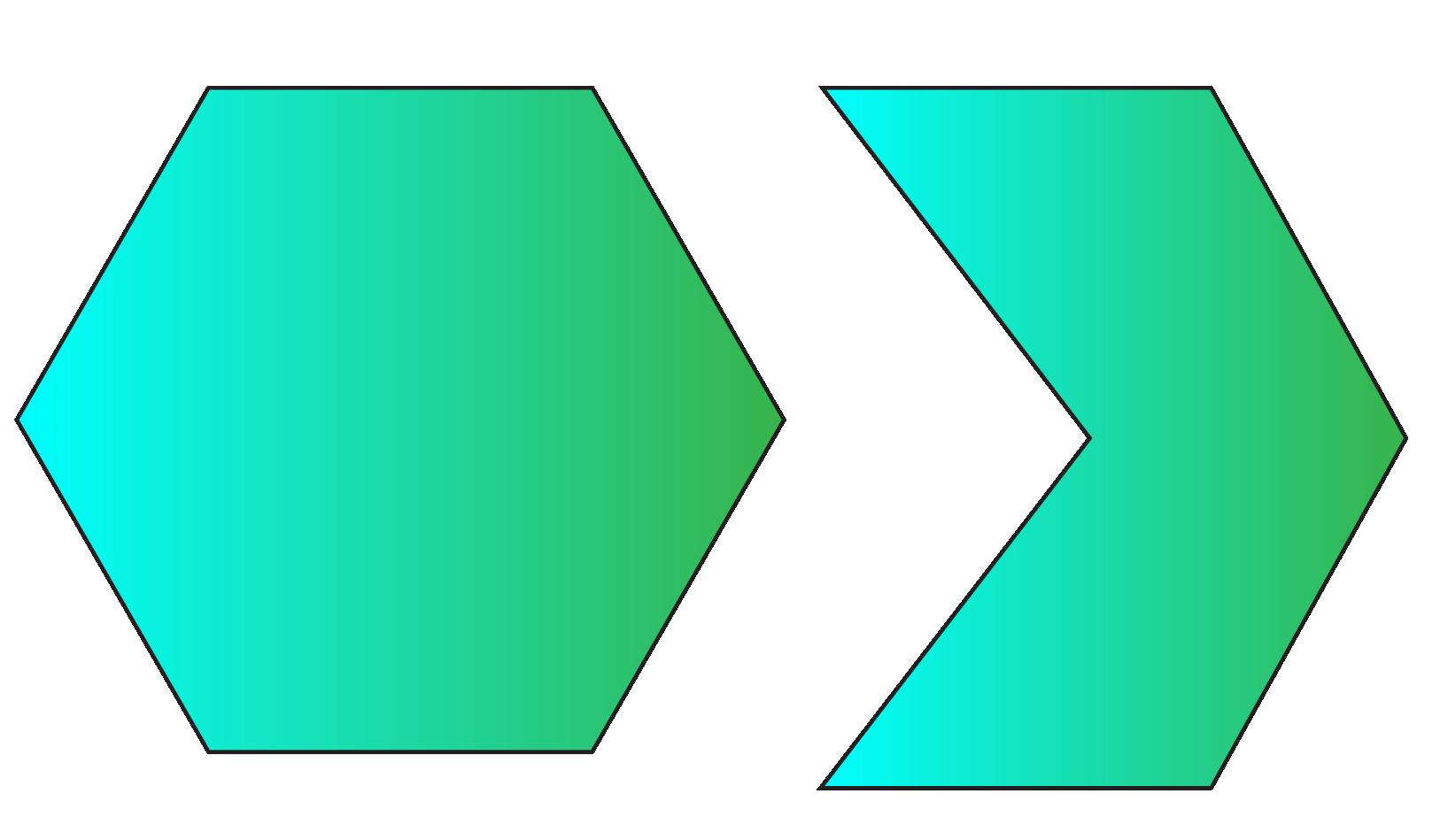 types of Hexagonal Shape