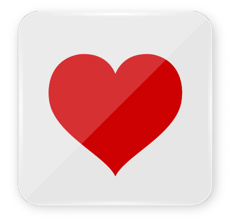 Suits in a Deck of Cards: Heart