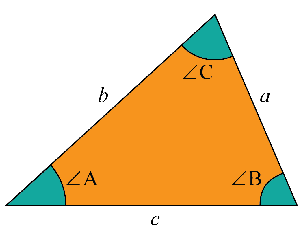 C in a triangle calculation