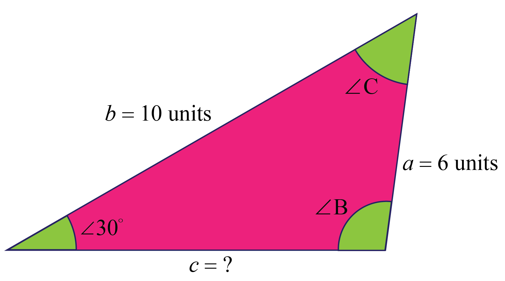 Triangle calculation