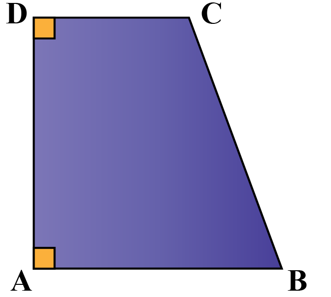 right trapezoid