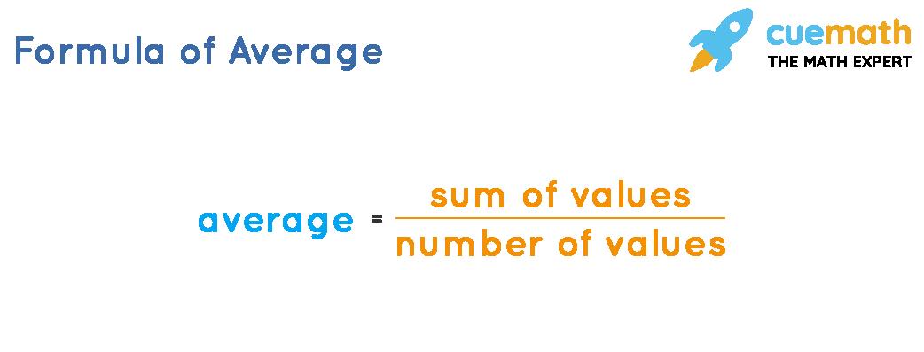 Formula of Average