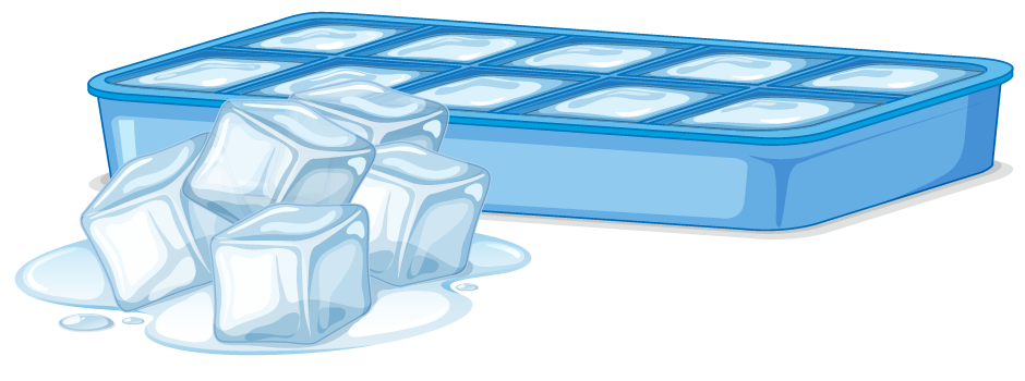 similar ice cubes