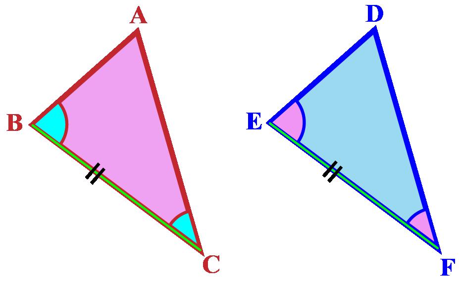 angle side angle definition