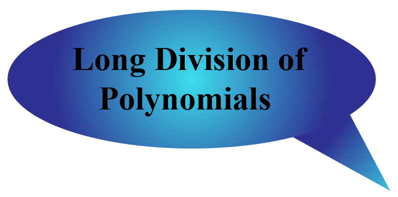 long division of polynomials calculator