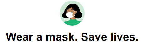 Image of a girl with mask