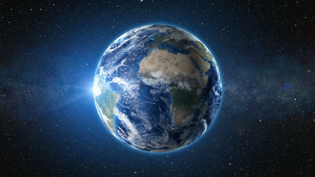A view of earth in space : Ptolemy's theory