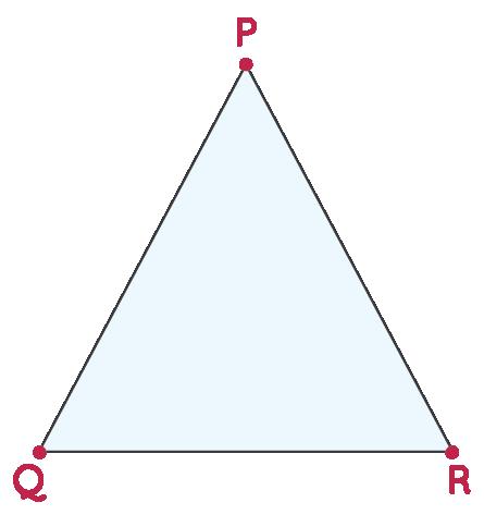 Line Segment in a Triangle