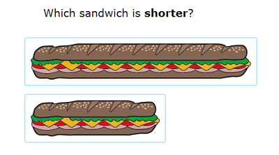 long and short measurement of burgers