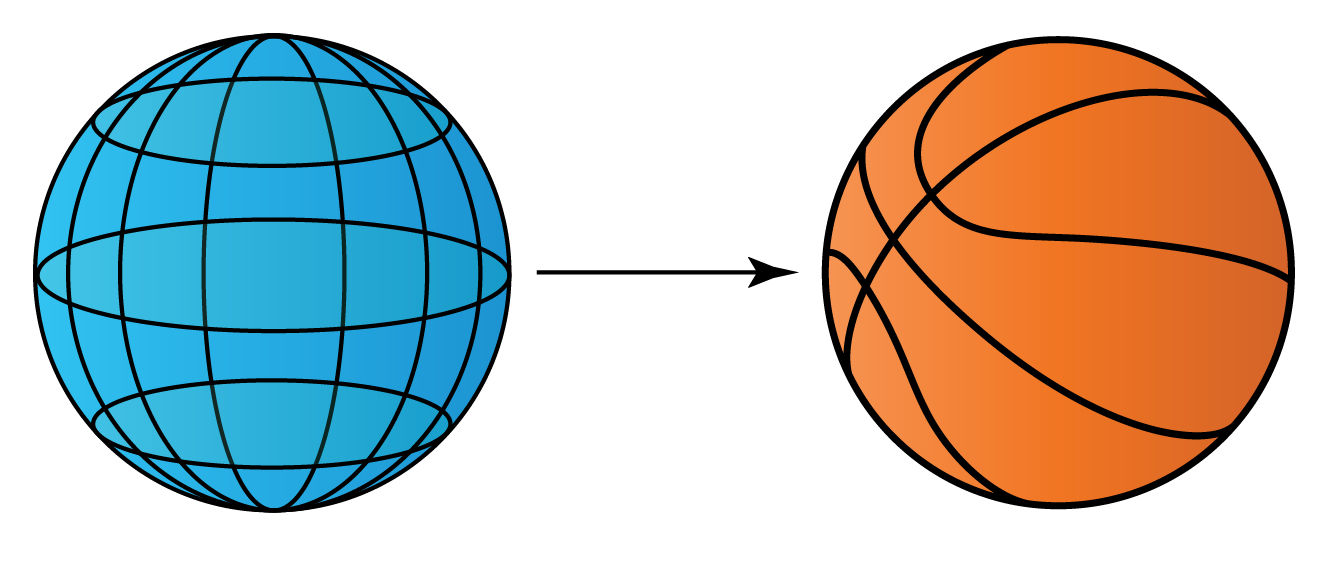 sphere  - example basketball