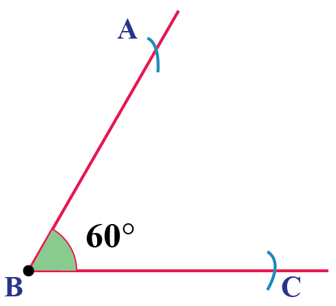 How to bisect an angle of 60 degrees