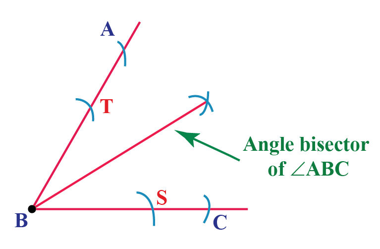 How to bisect an angle of 45 degrees