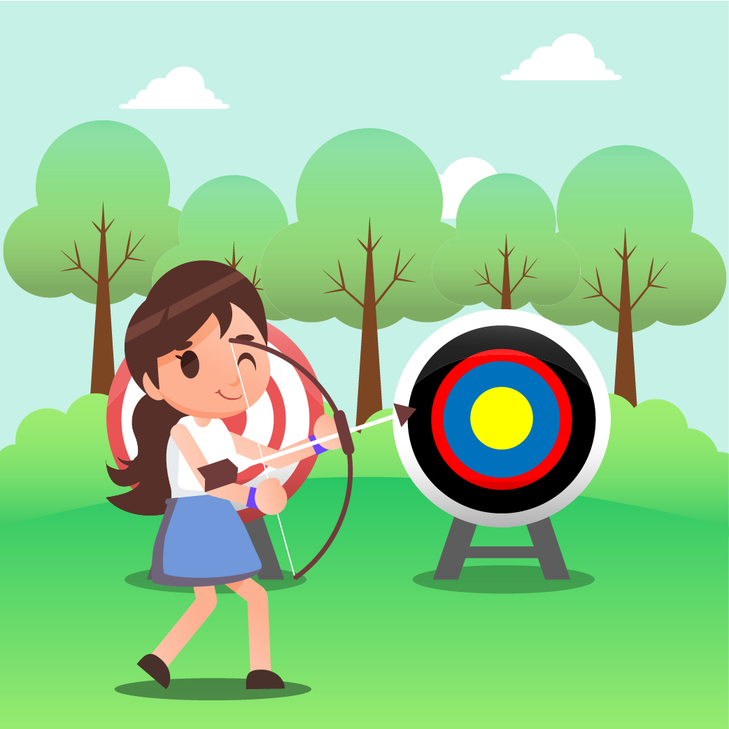 Jennifer is a brilliant archery player.