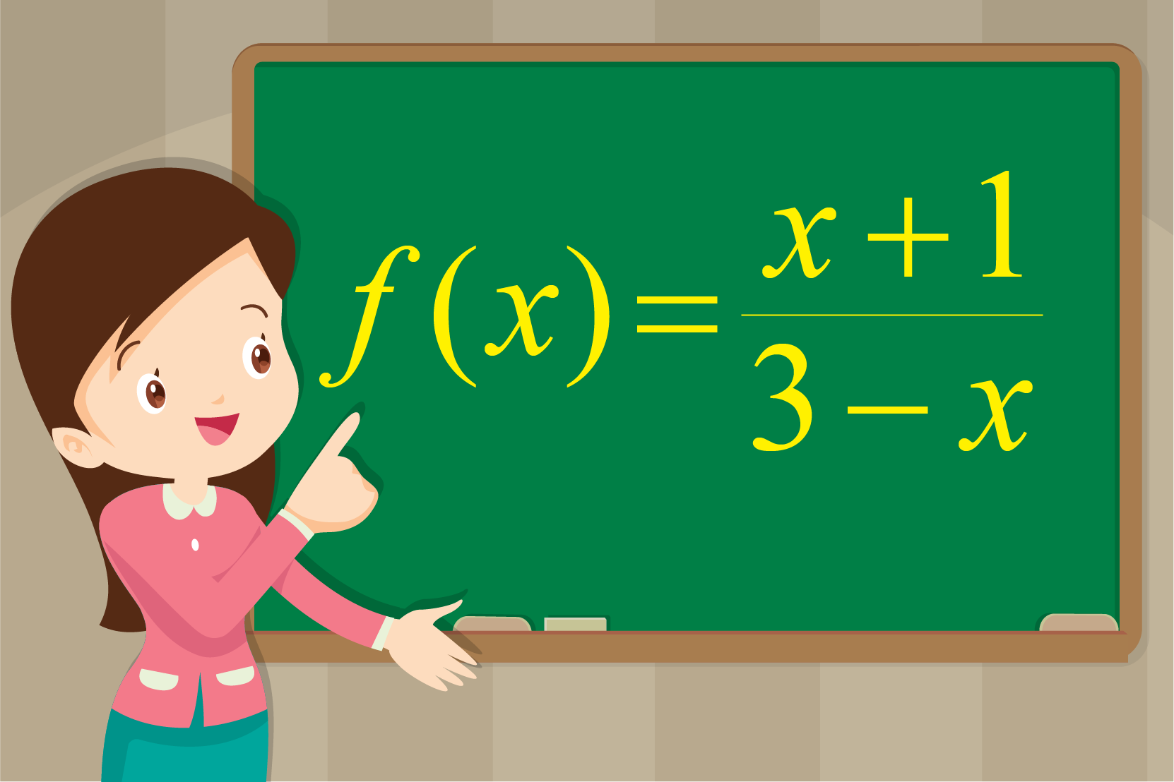 Find the domain and range of the given function.