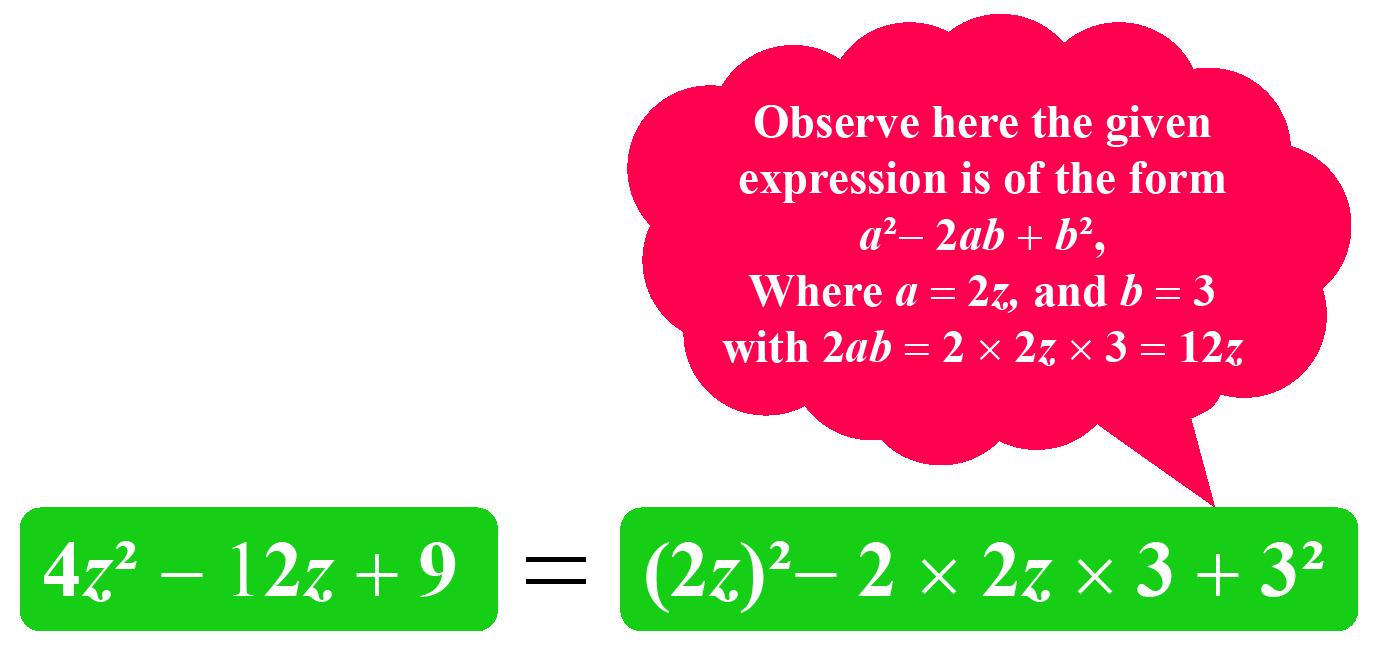 Factoring by Method Using Algebraic Identities