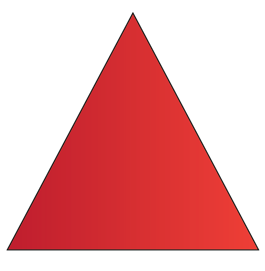 How a triangle look like.